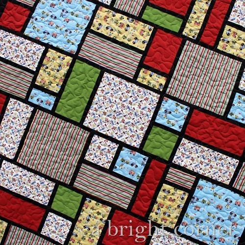Jack's Blocks quilt 2