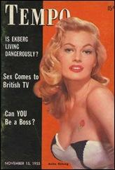 Anita Ekberg #213 - Mag. Cover