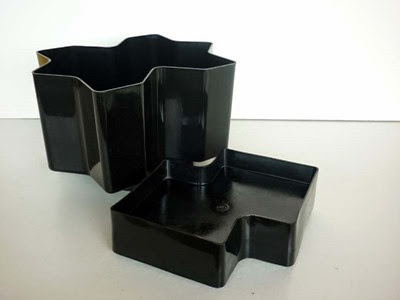 Programma Vastill planter black separated