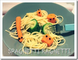 spaghetti ragnetti halloween