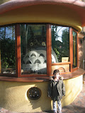 Kai at the Ghibli Museum