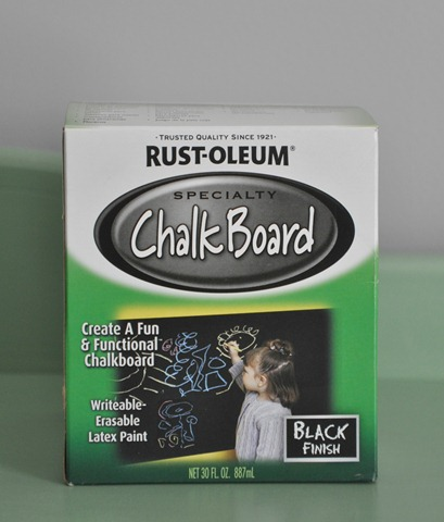Rust-Oleum's ChalkBoard Paint