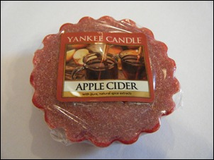 Yankee Candle Apple Cider