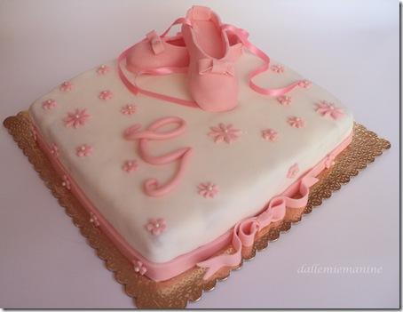 torta scarpe danza