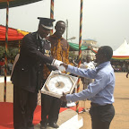 The School For the Deaf receives a clock from Reg. Police Commander..JPG