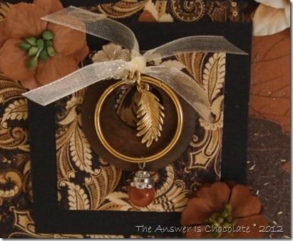 Thanksgiving Card Pendant