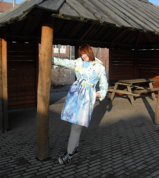 Emilies regnfrakke