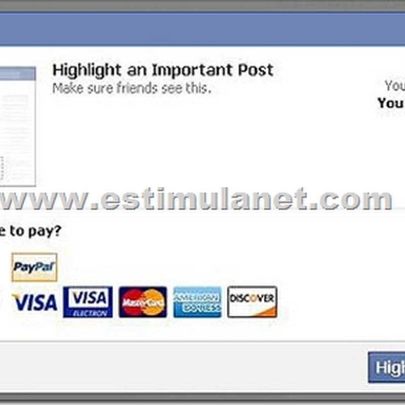 MENTIRA: Facebook não será pago