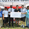 Peekskill Salvation Army Check Presentation