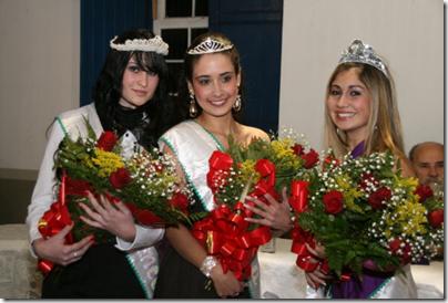 Princesas e Rainha da Semana Cultural de 2010