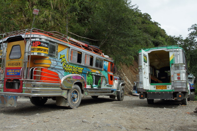 The famous Jeepneys of Philippines