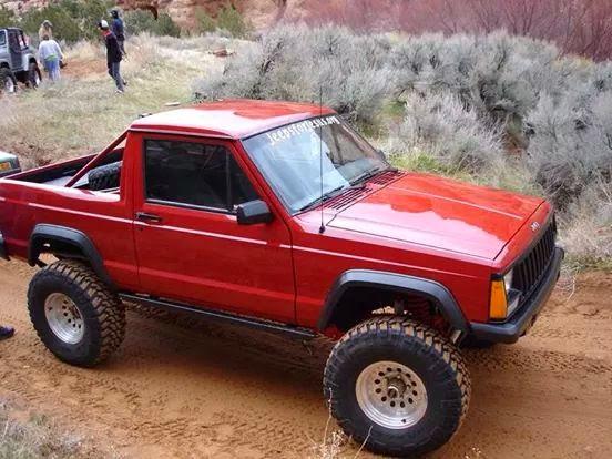 1992 Jeep Cherokee 2 Door >> Jeep-Cherokee 4x4: Cherokee dos puertas modificada a pick-up