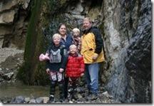 Brad & Debbie thomesn's family, 2008