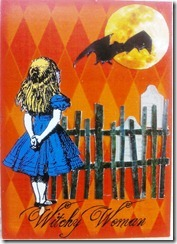 ATC Alice Halloween Witchy Woman