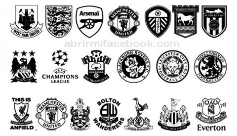 Memes sobre escudos de equipos de fútbol en Facebook