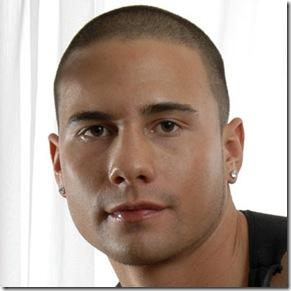 corte de cabello de hombre tipo militar