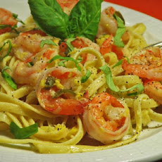 Pasta With Shrimp and Jalapeno Orange Sauce