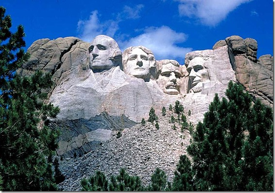800px-Mount_Rushmore - Wikimedia Commons - National Park Service Image