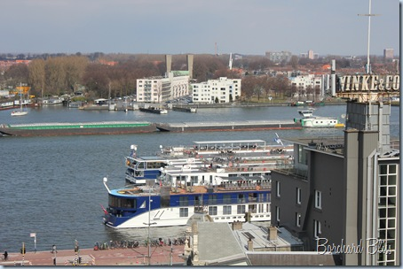 Rhine River Amsterdam Cruise Ship