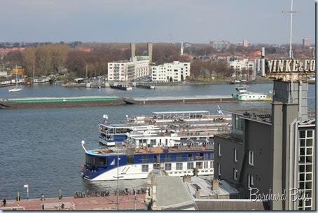 Rhine River Amsterdam Cruise Ship
