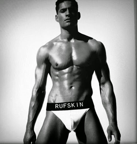 sexy guy in rufskin