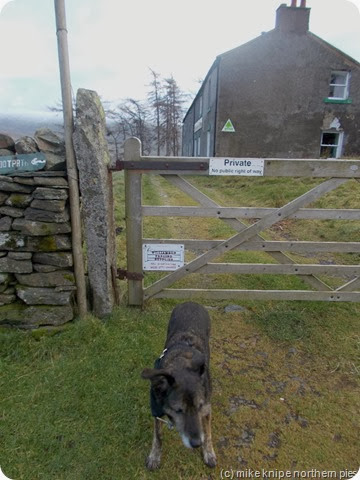 skiddaw house is private, see..?