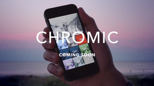 Chromic iphone app video effect 1