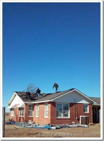 roof beginning