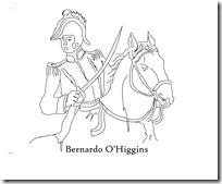 Bernardo O'Higgins a caballo