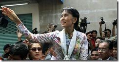 Suu Kyi in Thailand