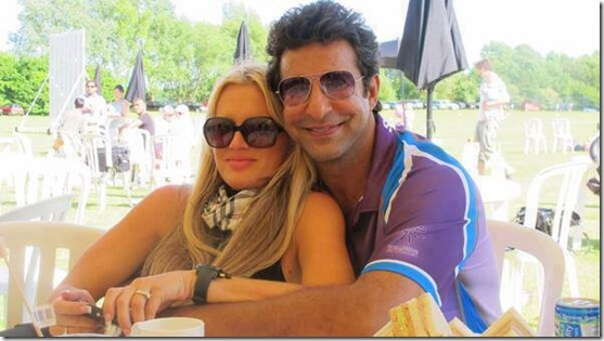 Wasim Akram again in Realationship