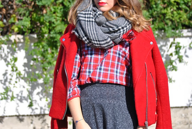 red tartan style in madrid 6