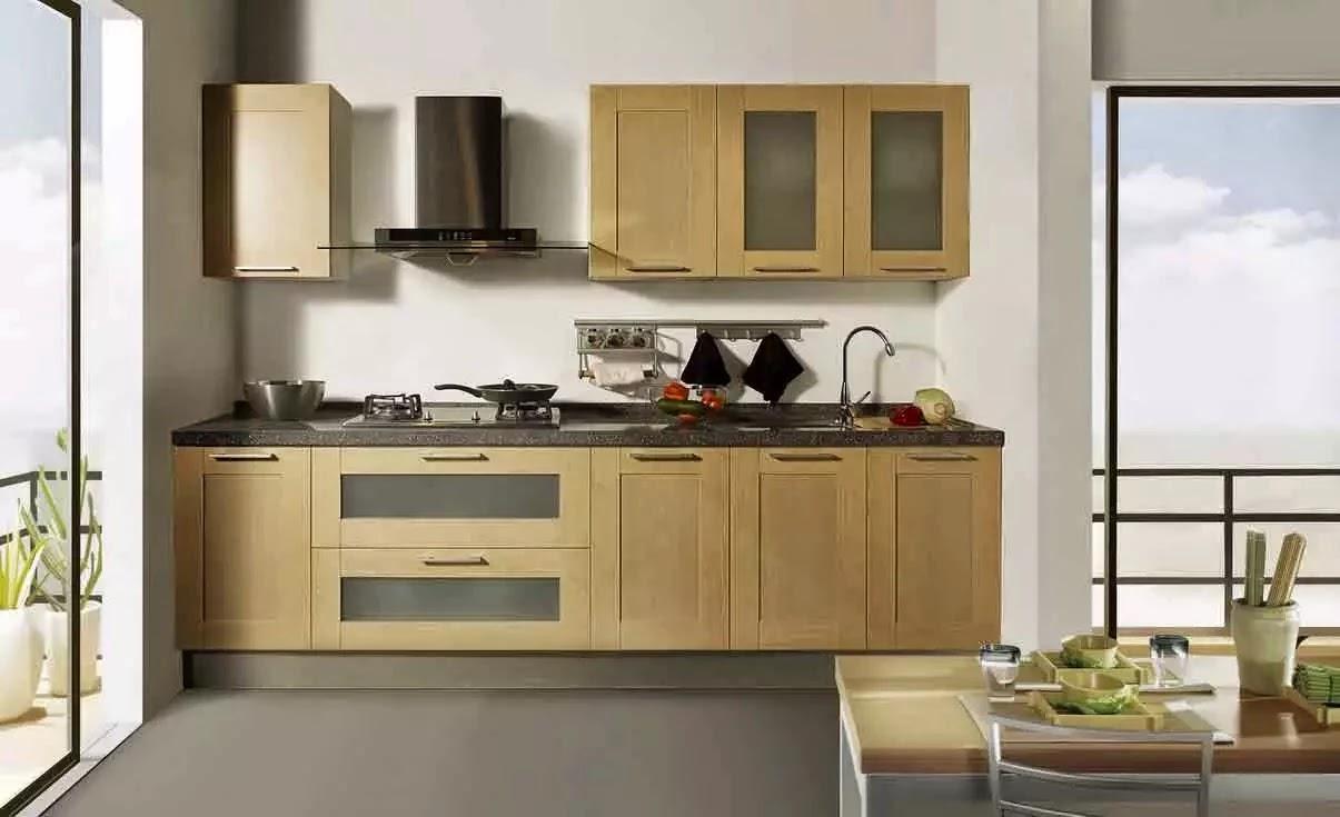 Tips menata dapur kecil for Buat kitchen set sendiri