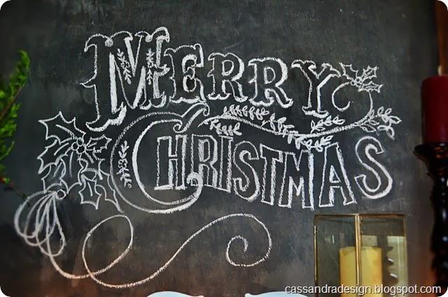 Merry  Christmas Chalkboard