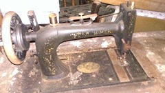 old New home sewing machine 1