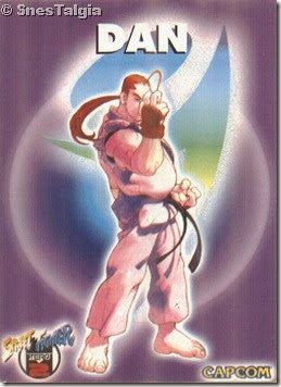 Dan 1 - Card Street Fighter Zero 2