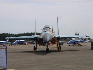 Sukhoi Su-30MK-1/K, earlier flown by the Indian Air Force [IAF]