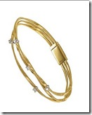 Marco Bicego Gold and Diamond Bangle