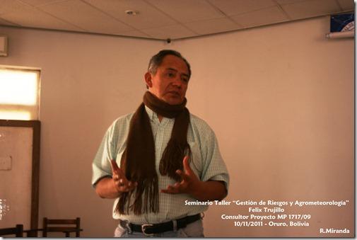 Felix R. Trujillo Ruiz-Coordinador Proyecto MP1717 09-RM