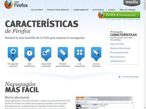 Lo nuevo en Firefox 17