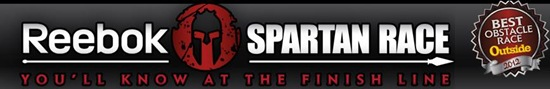 Reedbok Spartan Race Banner