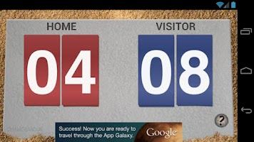 Screenshot of VBall Scoreboard Free