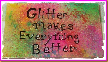 glitter