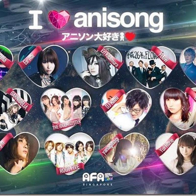 Anime Festival Asia 2014 - Artist line up