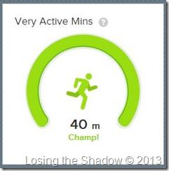 active minutes