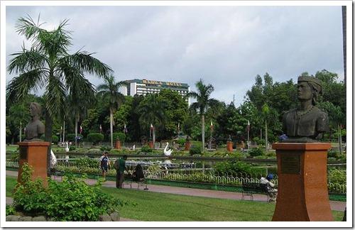 Rizal Park Present Day