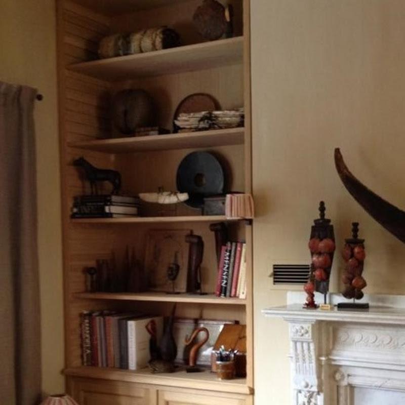 Belgian designed oak cabinets