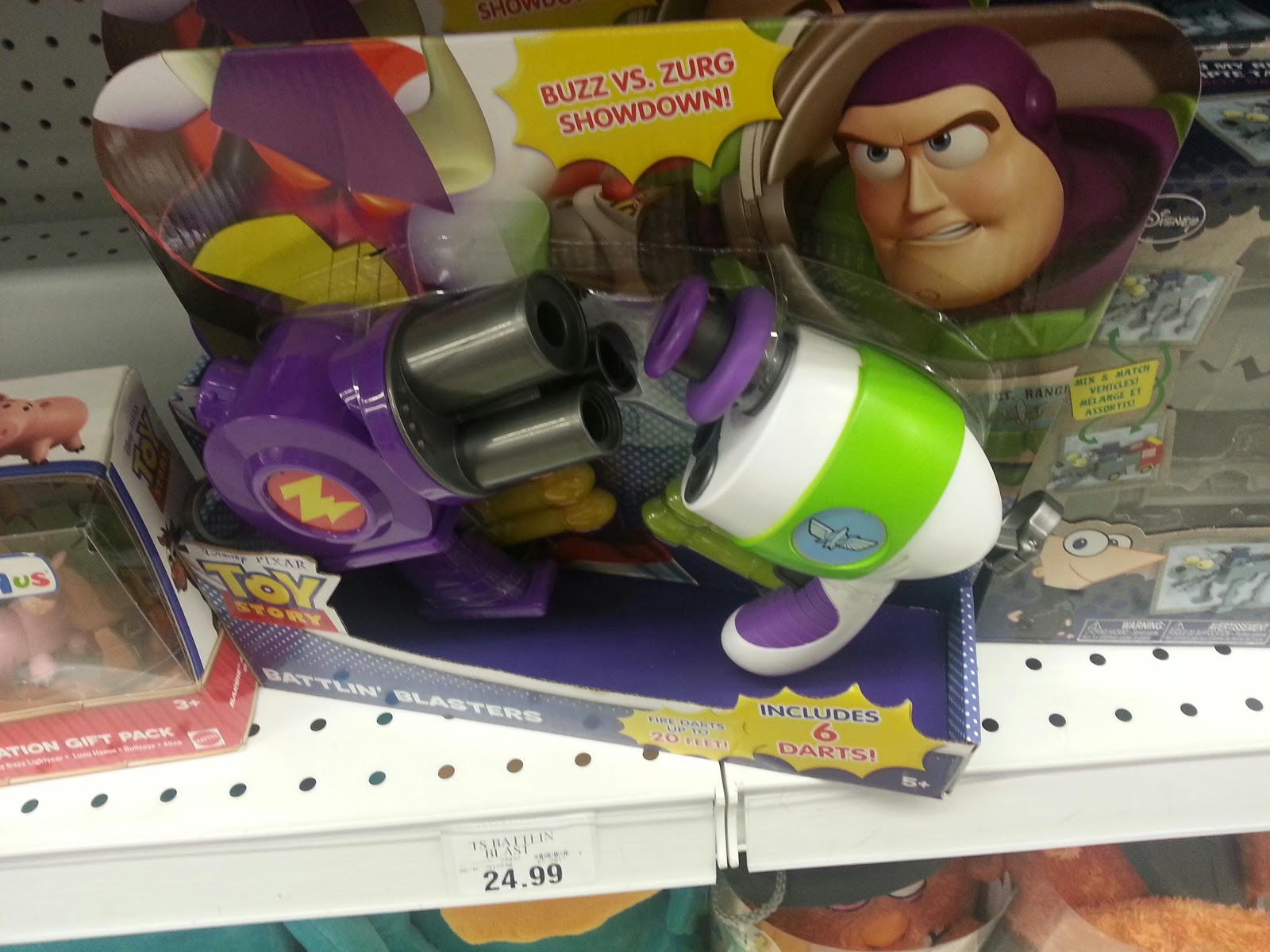 Toy R Us Toy Herobrine : Toys r us visit some new blasters