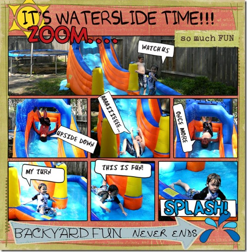 waterslide