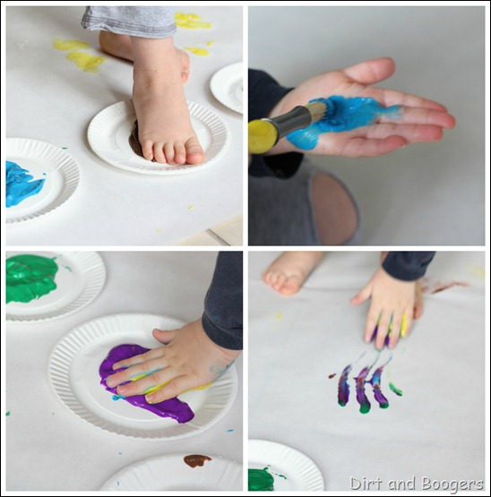 big art sensory painting